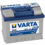 Varta Blue Dinamic 12V 60Ah 540A 560409 autó akkumulátor jobb+ (+AJÁNDÉK!)