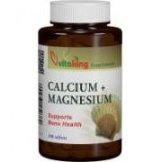 Calciu-magneziu 500/250 100cpr VITAKING