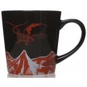 Der Hobbit Smaug Tasse-schwarz rot weiß - Offizieller & Lizenzierter Fanartikel Onesize Unisex