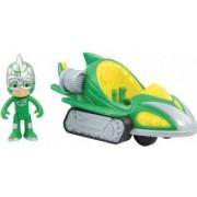 Set de joaca Sopi si Sopi Mobilul Eroi in Pijama Turbo Blast Racers