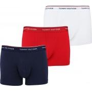 Tommy Hilfiger Shorts 3er-Pack Trunk Multi - Rot Größe XL