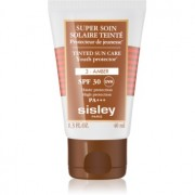 Sisley Sun crema facial protectora con color SPF 30 tono 3 Amber 40 ml