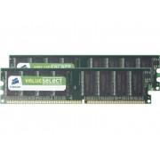 PC-werkgeheugen kit Corsair ValueSelect VS2GBKIT400C3 2 GB 2 x 1 GB DDR-RAM 400 MHz CL3 3-3-8