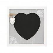 Tablă decorativă Love Winter 30 x 30 cm,