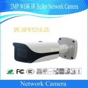 Free Shipping DAHUA Security IP Camera 2MP WDR IR Bullet Network Camera with POE without Logo IPC-HFW5231E-ZE