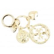 Guess Pandantiv Gold Keychain nu este coordonat