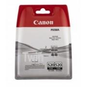 Twin Pack Cartus Black Pgi-520Bk Original Canon Ip4600