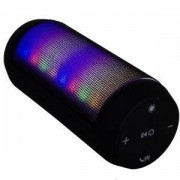 Блутут колонка Esperanza, FM говорител с LED FADO осветление, Черен