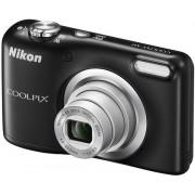 Aparat Foto Digital NIKON COOLPIX A10, Filmare HD, 16.1 MP, Zoom optic 5x (Negru) + Card de memorie SanDisk Ultra microSDHC, 16GB, Clasa10, UHS-I