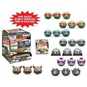 Funko MyMoji TMNT Teenage Mutant Ninja Turtles Mini Toy Action Figure Emoji and Exclusive Digital Download Emoji in each pack - 2 Random Packs