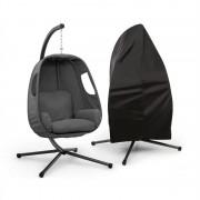 Blumfeldt Bella Donna, scaun suspendat, set de protecție împotriva ploii, gri închis (GDW8-Bella Donna DG)