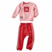 adidas Ensemble de survêtement bébé fille rose - 12-18M OL - Foot Lyon