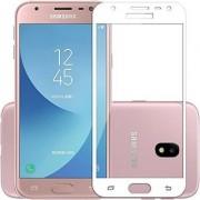 TechGear Edge To Edge Tempered Glass for Samsung Galaxy J7 Max (White)