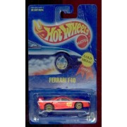 Hot Wheels 1991 69 Gold Medal Speed Red Ferrari F40 1:64 Scale