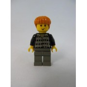 LEGO Harry Potter Ron Weasley Minifigure Black Outfit