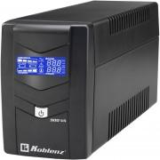 NO BREAK KOBLENZ 9011 USB/R, 900VA/ 480 W, C/REGULADOR,6 CONTACTOS USB,RJ11,DISPLAY LCD, HASTA 40MIN