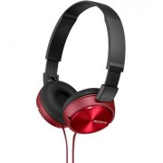 HEADPHONES, SONY MDR-ZX310, Red (MDRZX310R.AE)