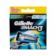 Gillette Mach3 rezerve aparat de ras 6 buc pentru bărbați