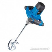 Silverstorm 1220W Plaster Mixer 140mm - 1220W 264219 5024763125676 Silverline