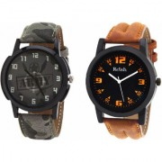 Relish Analog Round Casual Wear Watches Combo for Mens RELISH-1058C