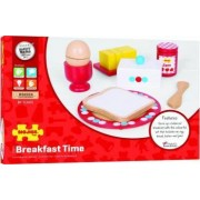 Jucarie Set mic dejun din lemn BigJigs Multicolor