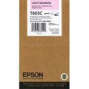 T603C Tintapatron StylusPro 7800, 9800 nyomtatókhoz, EPSON világos vörös, 220ml Stylus Pro 7800 Stylus Pro 9800 Eredeti kellékanyag