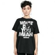 Camiseta bandUP! Justin Bieber WDYM - Unissex