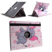 B2Ctelecom Apple iPad Pro 12.9 Hoesje Baby Olifantje, 360 graden Draaibare Houder