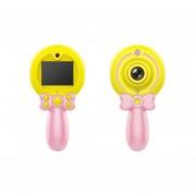 Autodisparador varita mágica bebé cámara inteligente cámara HD-Rosa