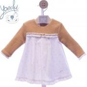 Vestido bebé invierno Maya Yoedu