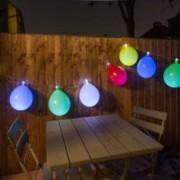 Thumbs Up Guirlande lumineuse avec ballons de baudruche
