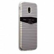 Husa Silicon Transparent Slim I Dont Care Motorola MOTO E4