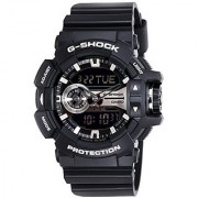 Casio G-Shock Analog-Digital Grey Dial Mens Watch - GA-400GB-1ADR (G649)
