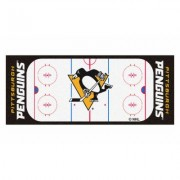 Fanmats NHL Rink Runner Mat NHL Beige Pittsburgh Penguins