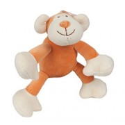 OSCAR MONKEY (6in) 15cm (Light Brown) PETITE SQUEAKER PLUSH TOY
