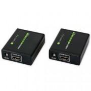 Techly Extender HDMI™ Full HD 3D su cavo Cat. 5E/6/6A/7 fino 60 metri