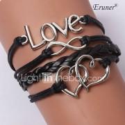 Dames Wikkelarmbanden Lederen armbanden Uniek ontwerp Inspirerend Modieus Met de hand gemaakt Initial Jewelry PERSGepersonaliseerd
