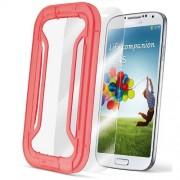 Folie De Protectie Transparenta Alb SAMSUNG Galaxy S4 Cellularline