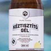 Kéztisztító Gél Ezüstkolloiddal és Hidrogén-peroxiddal Utántöltő 300 ml