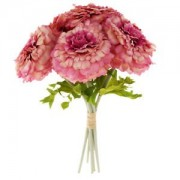ELECTROPRIME Wedding Bouquet Romantic Silk Daisy Flower Favors Decor House Flowers Pink
