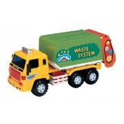 Small World Toys Vehicles - Recycle/Trash Truck Friction Powered