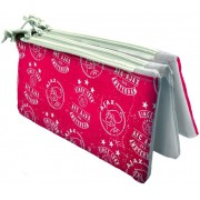 Etui ajax rood/wit triple since 1900