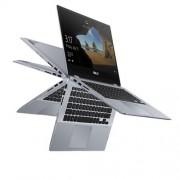 "ASUS Vivobook Flip 14 TP412UA-EC141T i3-7020U, 8GB, 256GB, HD 620, 14"" FHD Touch, Gray, Win 10"