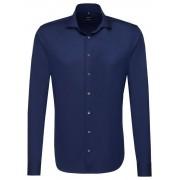 Seidensticker Overhemd Tailored Spread Kent Navy / male