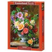 Puzzle Flori in vaza, 500 piese
