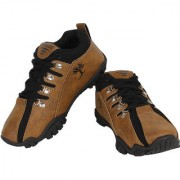 World Wear Footwear Men's Brown Lace-up Smart Casuals