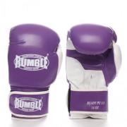 Rumble bokshandschoen Ready PU 2.0 paars-wit