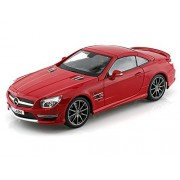 2012 Mercedes Benz Sl Amg63 Hard Top 1/18 Red