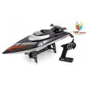 Toys Bhoomi 2.4G Brushless HIGH SPEED 45Km/h RC Racing Boat Ship With Water Cooling Motor System & Capsize Recovery