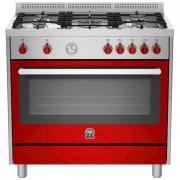 La Germania Ris95c61bxr Cucina 90x60 5 Fuochi A Gas Forno Elettrico Multifunzion